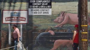 Die Fleischindustrie in den USA besteht aus wenigen gigantischen Betrieben.