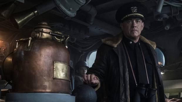 "Tom Hanks in ""Greyhound"""