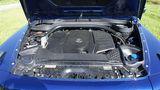 Der Dreiliter Reihen-Sechszylinderdiesel passt mit seinen 210 kW / 286 PS gut zur G-Klasse