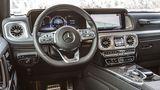 Die Sprachsteuerung des Mercedes erreicht nicht die Zuverlässigkeit eines BMWs