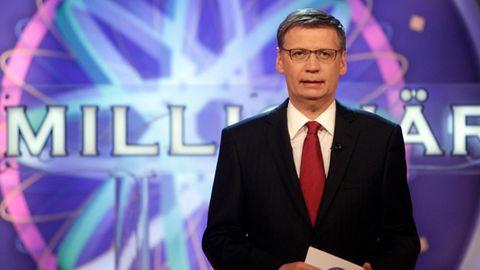 """Günther Jauch moderiert die beliebte Quizshow """"Wer wird Millionär?"""" seit 1999."""