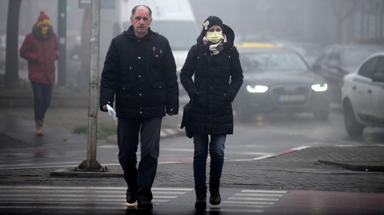 Smog in Skopje