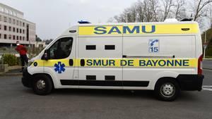 Ein französischer Krankenwagen (Symbolbild)