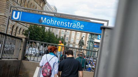 U-Bahnhof Mohrenstraße in Berlin