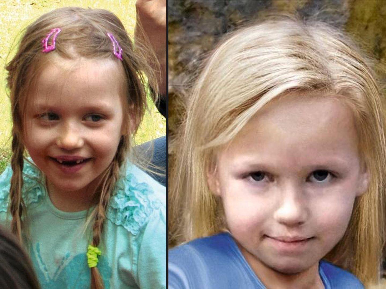 """Links: Bild von Inga ;Rechts: """"Aging"""" Bild von Inga Gehricke"""