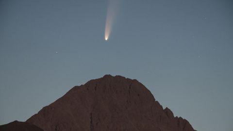 Komet Neowise über den Gran Sasso