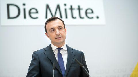 CDU- Generalsekretär Paul Ziemiak
