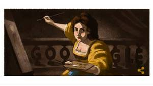 Google Doodle von Artemisia Gentileschi