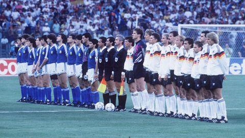 Mannschaftsbild von der WM 1990