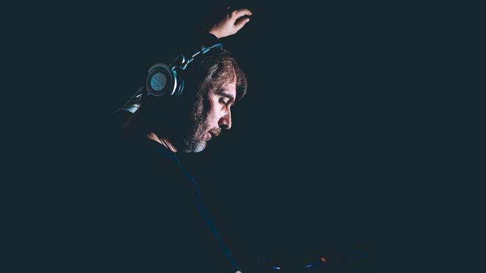 DJ Karotte am DJ-Pult