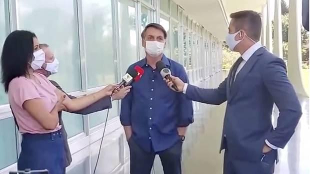 Bolsonaro gibt Interview