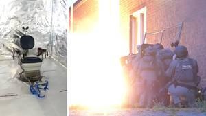 Razzia-Video: Polizei findet Folterkammer im Südwesten der Niederlande
