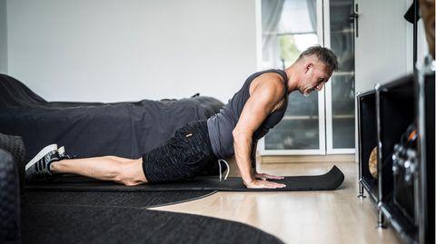 Andreas Bittner beim Training