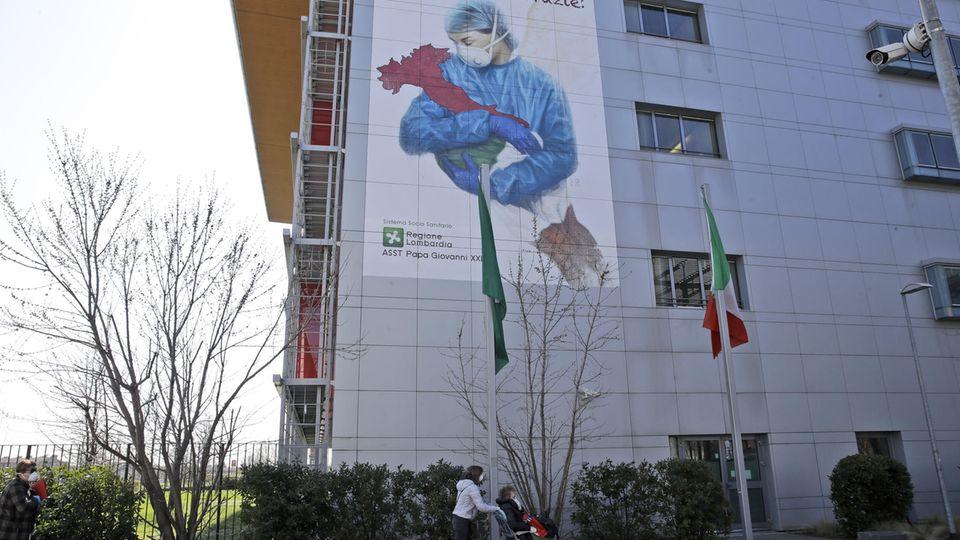 KrankenhausPapa Giovanni XXIII in Bergamo