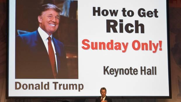 Reichwerden mit Donald Trump