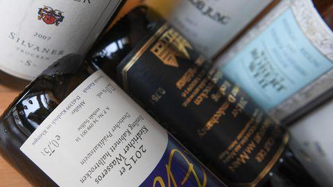 Weinflaschen - EU-Hilfen für Winzer