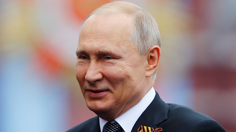 Wladimir Putin lächelt
