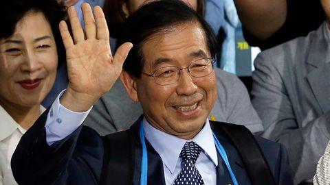 Park Won Soon war seit 2011 Bürgermeister von Seoul, zweimal wurde er wiedergewählt