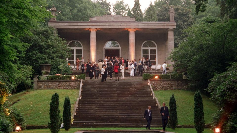 Karl Lagerfelds ehemalige Villa in Hamburg