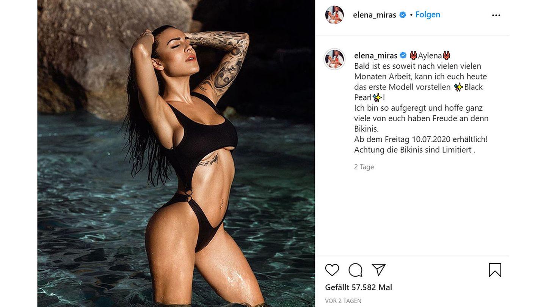 Vip News: Elena Miras verkauft jetzt Bikinis