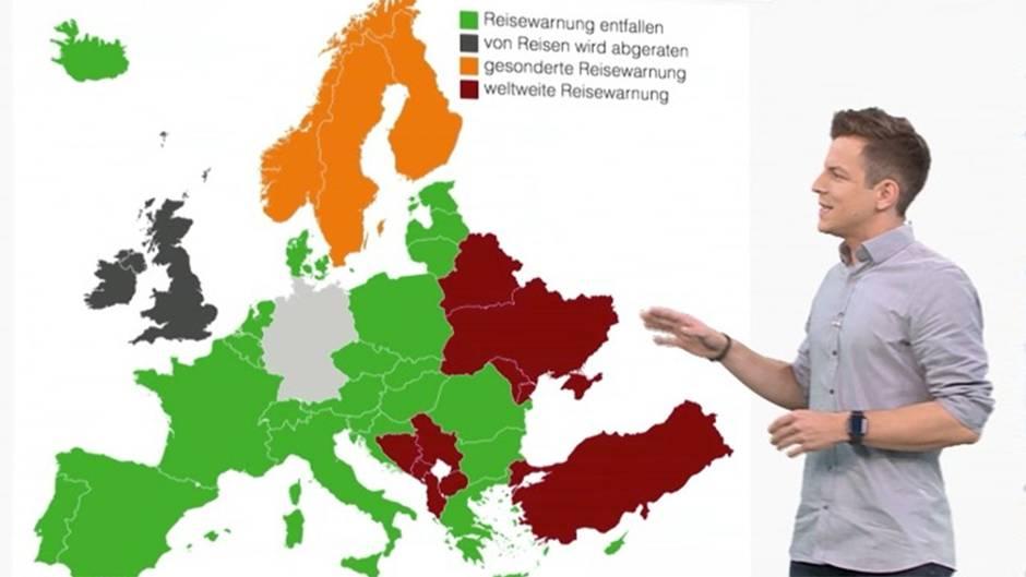 Für diese Ländern in Europa gelten Reisewarnungen – ein kleiner Staat bereitet Sorgen