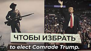 Donald Trump in Russland-Video