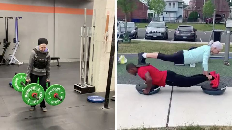 73-Jährige Fitness