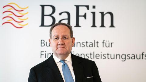 Felix Hufeld ist seit März 2015 Präsident der Bundesanstalt für Finanzdienstleistungsaufsicht (BaFin)