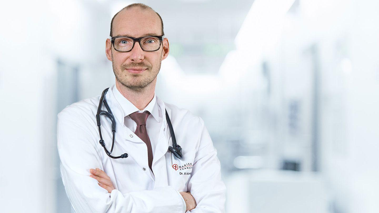 Chefarzt Michael Wünning richtet sich mit einem Appell an die Politik.