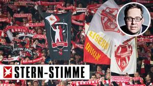 Bilder aus fast vergessenen Tagen: Union-Fans im am 12. Spieltag, lang vor Corona, im Stadion