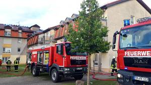 Brand in Pflegeheim in Templin