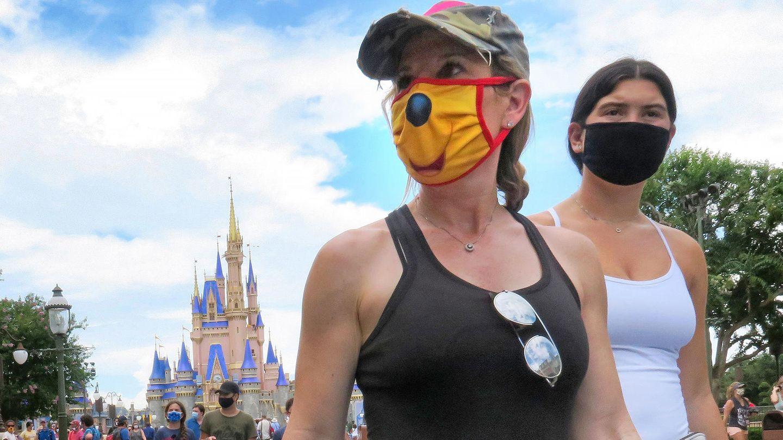 """Florida ist einer der Corona-Hotspots in den USA, nun hat """"Disney World"""" trotzdem die Türen geöffnet"""