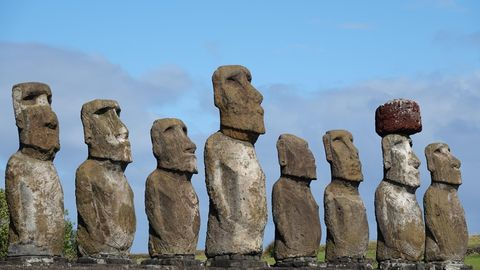 Steinstatuen der Osterinsel