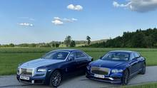 Rolls Royce Ghost - Bentley Flying Spur