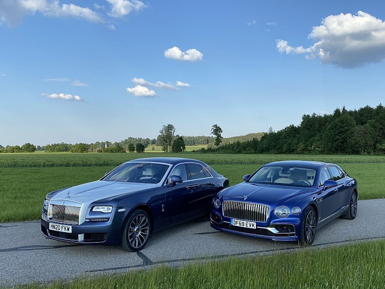 Rolls Royce Ghost - Bentley Flying Spur