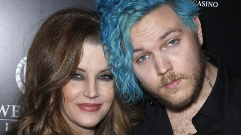 Benjamin Keough, hier im April 2015 mit seiner Mutter Lisa Marie Presley in Las Vegas