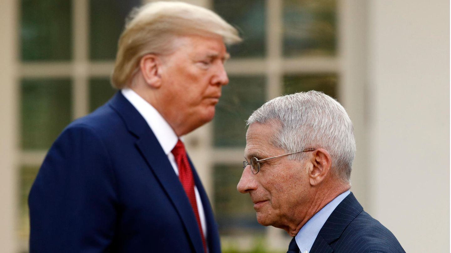 Donald Trump und Anthony Fauci
