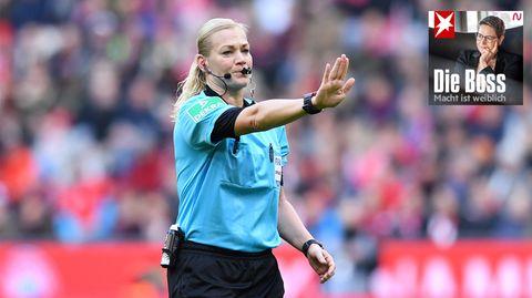 """""""Die Boss"""": Schiedsrichterin Steinhaus: """"Ich wusste, dass ich eine gute Leistung abliefern muss. Für alle Frauen, die diesen Weg auch gehen wollen"""""""