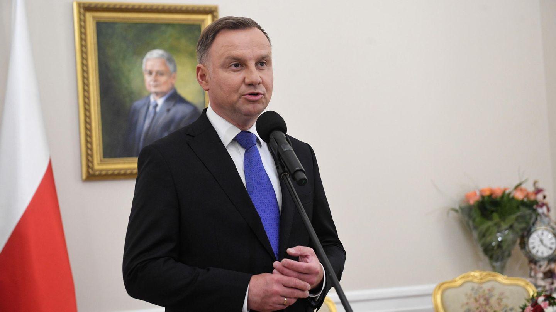 Andrzej Duda, amtierender Präsident von Polen