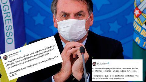 """Corona-Infektion: Bolsonaro hat genug von der """"schrecklichen"""" Quarantäne – und macht neuen Covid-19-Test"""