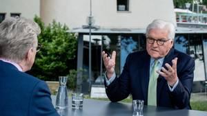 Theo Koll und Bundespräsident Frank-Walter Steinmeier