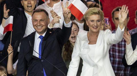 Präsidentenwahl in Polen: Andrzej Duda liegt vorn