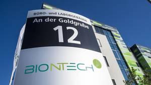 Hauptquartier der Firma Biontech in Mainz