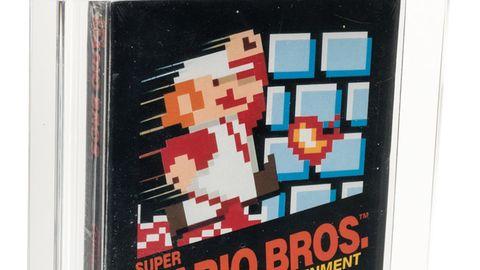 """""""Super Mario Bros."""" wurde millionenfach verkauft, doch nur wenige Exemplare sind ein Vermögen wert."""