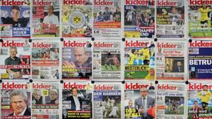 "Titel des Sportmagazins ""Kicker"""