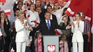 Andrzej Duda, neuer und alter Präsident der Republik Polen