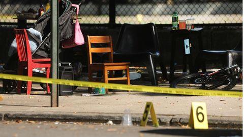 New York: Einjähriger nach Schüssen gestorben