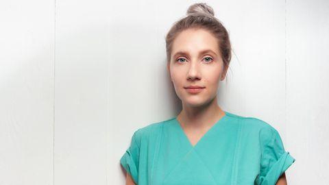 Krankenpflegerin Nina Böhmer
