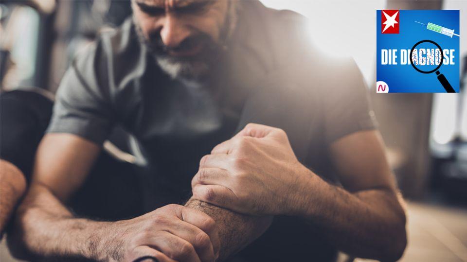 """""""Die Diagnose"""": Jeder Schritt eine Qual: Ein Mann leidet an Muskelschmerzen – die Ursache liegt in seiner Lunge"""