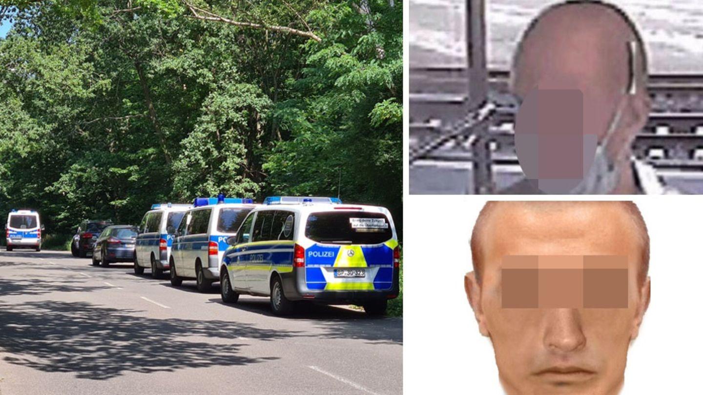 Polizei in Berlin; gesuchter mutmaßlicher Serienvergewaltiger